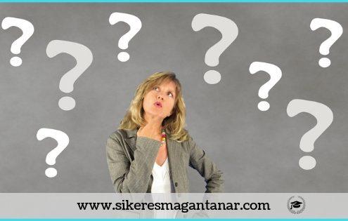 Sikeres magántanár - gyakran ismételt kérdések